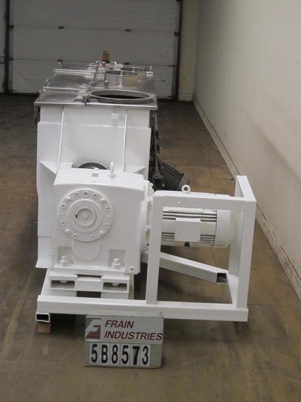 American Process Mixer Powder Paddle S.S. 55 CU FT