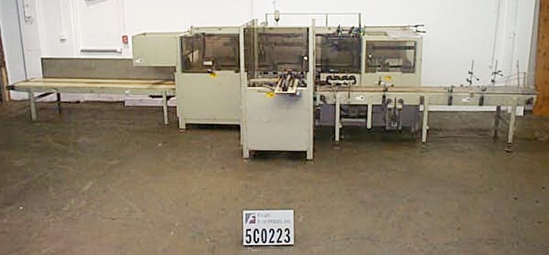 Bemis Case Packer Erector/sealer 15877A