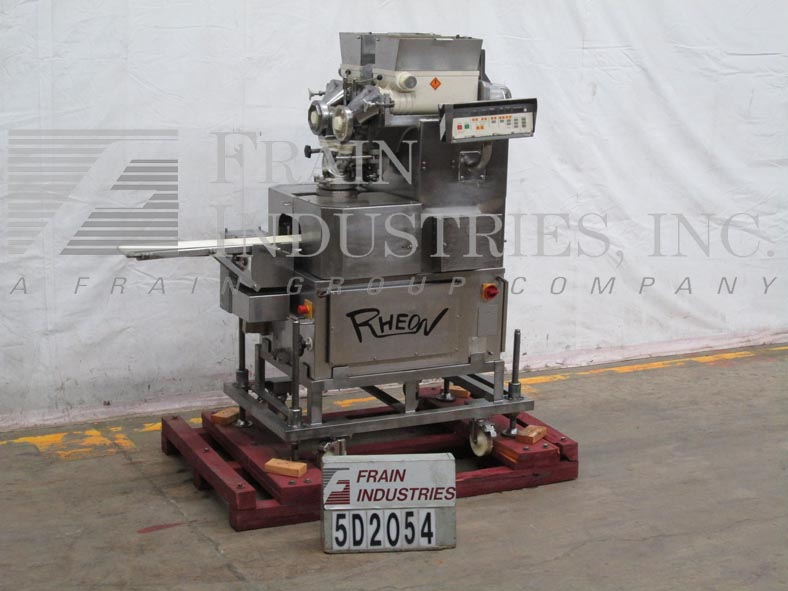 Rheon Bakery Equipment KN300 S/S Encruster Up to 60pcs/min 10-300grams