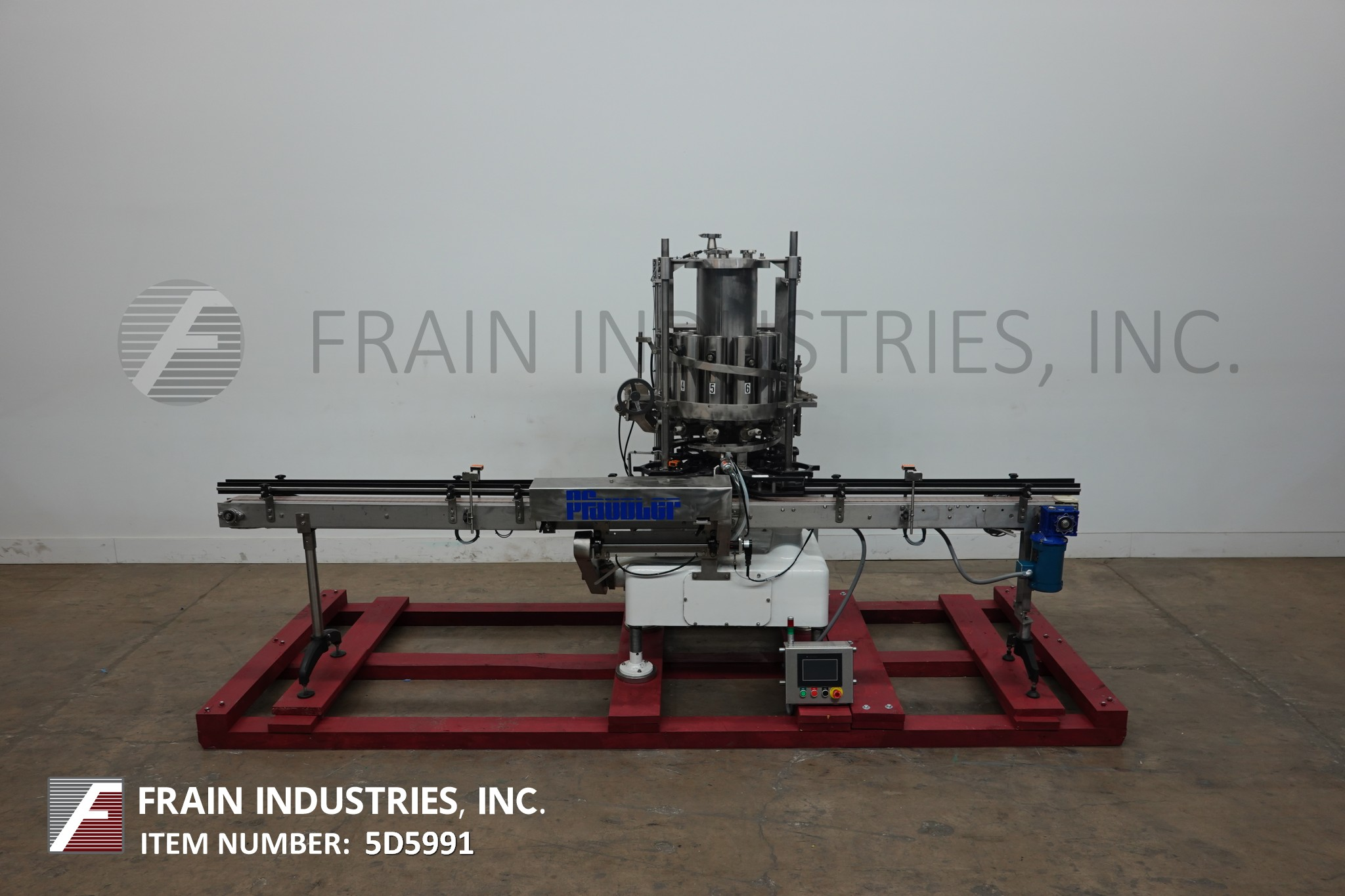 Pfaudler Filler Can Piston 10 HD Pfaudler automatic 10 head rotary piston filler capable of 300 cpm