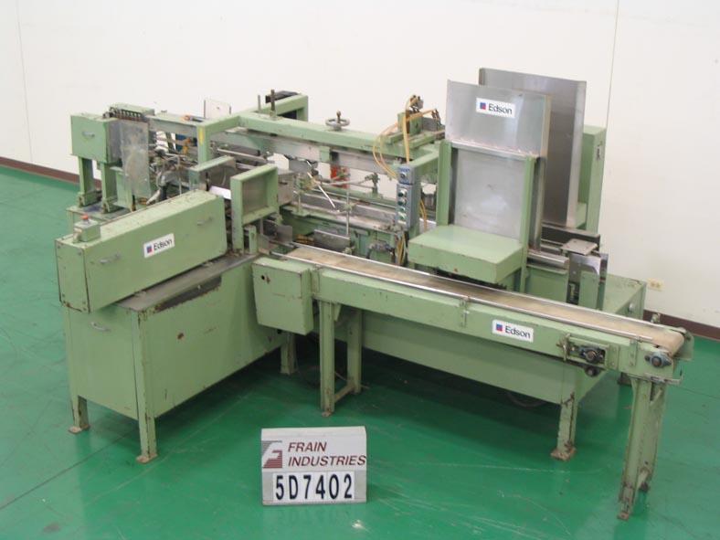 Edson Case Packer Erector/sealer 3100