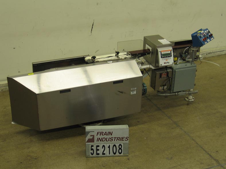 Photo of Eriez Metal Detector Conveyor EZ4
