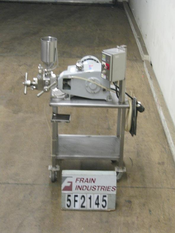 APV Gaulin Homogenizer 2 Stage 15-15MR-8TA