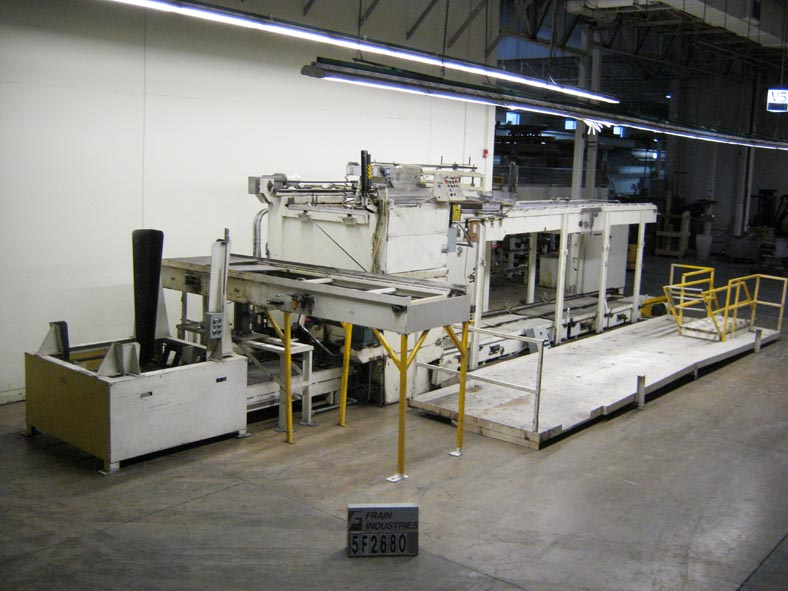 Can Line Depalletizer Magnetic FULL CAN DEPAL