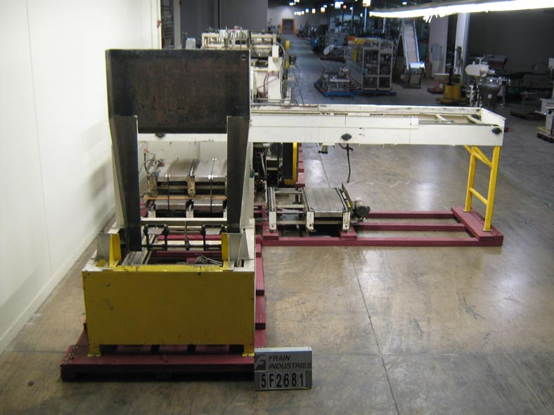 Tri-Can Depalletizer Magnetic 2050