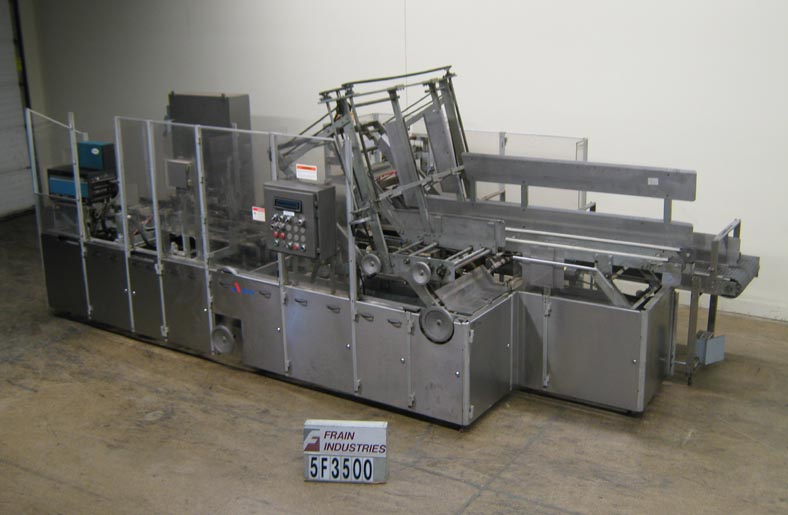 Douglas Machine Inc Case Packer Tray Form/Pack WACP/TF-21
