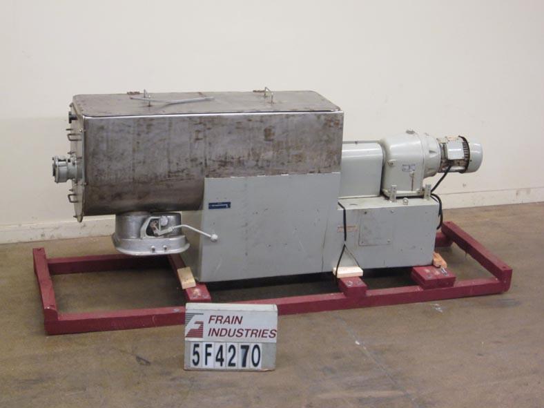 Babcock Gardner Mixer Powder Ribbon S. S. L SERIES 400L