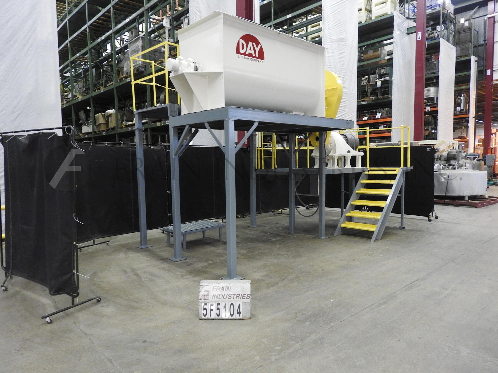 Mixer Powder Ribbon S. S. 60 CU FT