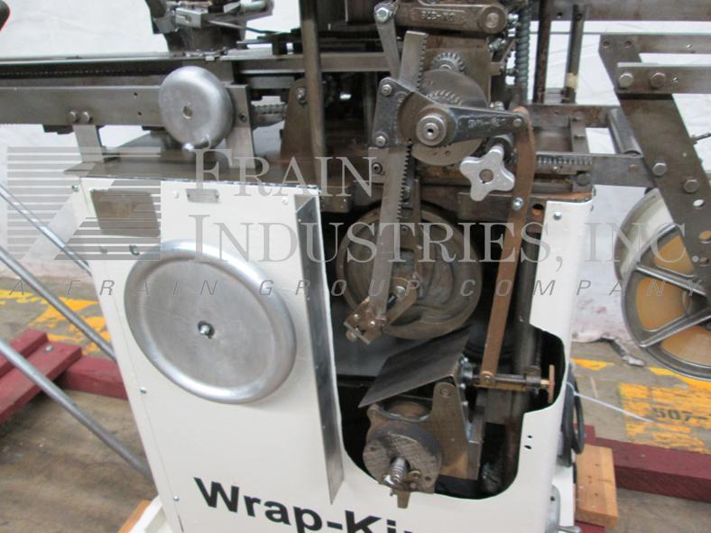 Wrap King / C & K Machinery  Wrapper Fold or Bunch DW
