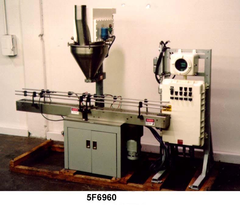 All Fill Filler Powder Auger SHA300