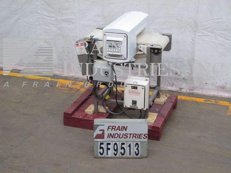 Safeline Metal Detector Conveyor STD