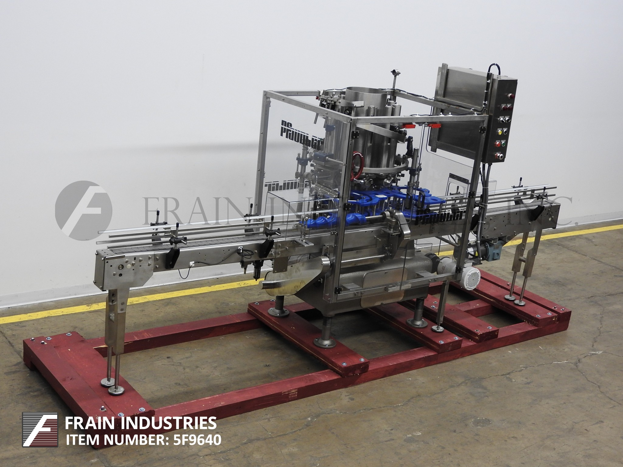 Elmark Packaging Filler Can Piston 10 HD ROTARY
