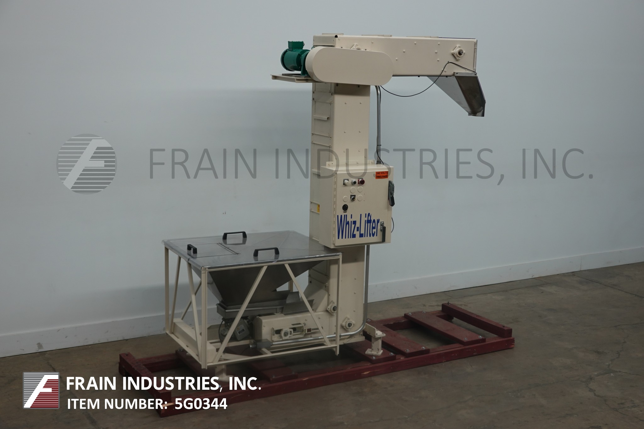Whiz Lifter Conveyor Bucket Elevator C