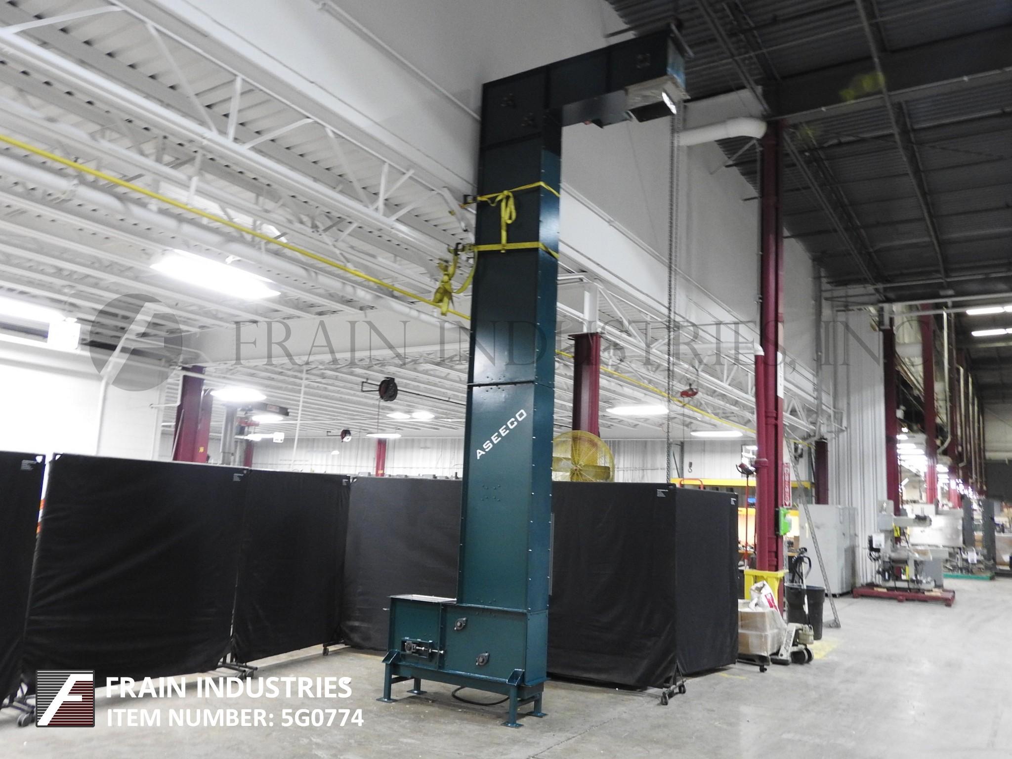 Aseeco / PPM Conveyor Bucket Elevator ALS6CP