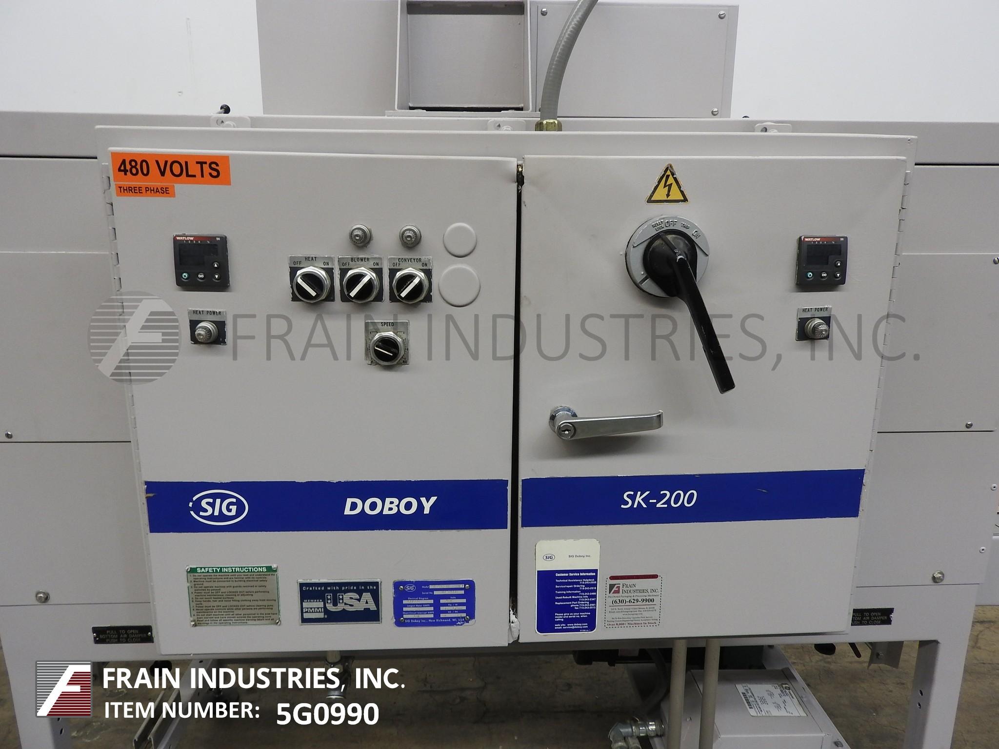Doboy Shrink Tunnels SK200