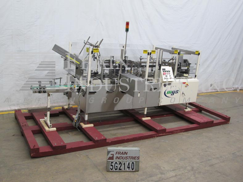 MGS Case Packer Erector/sealer HIS-1800