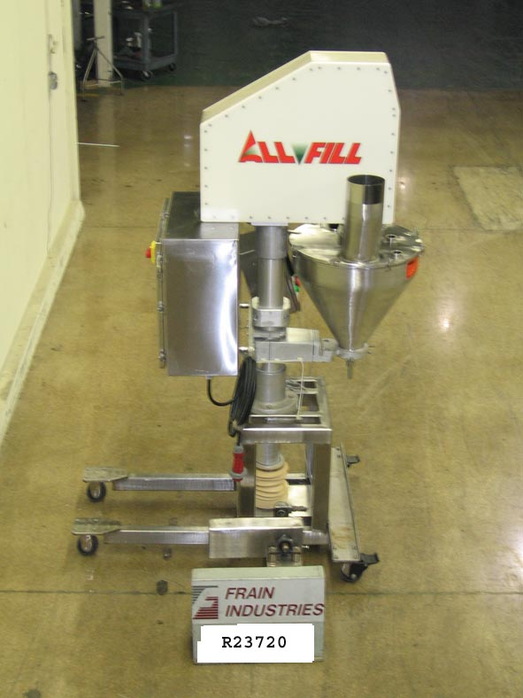 All Fill Filler Powder Auger BSV600