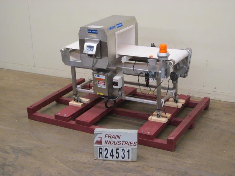 Lock Inspection Systems Metal Detector Conveyor MET30 +3F