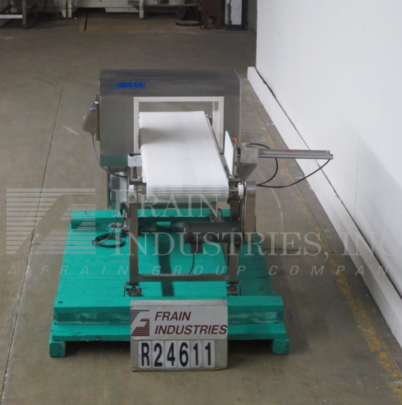 Lock Inspection Systems Metal Detector Conveyor MET30+3F