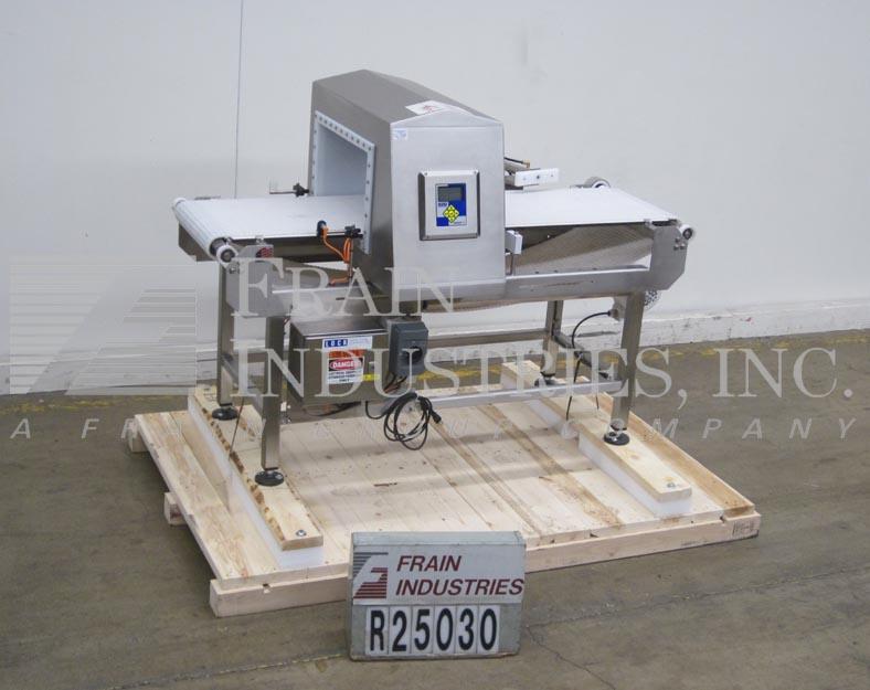Lock Inspection Systems Metal Detector Conveyor INSIGHT