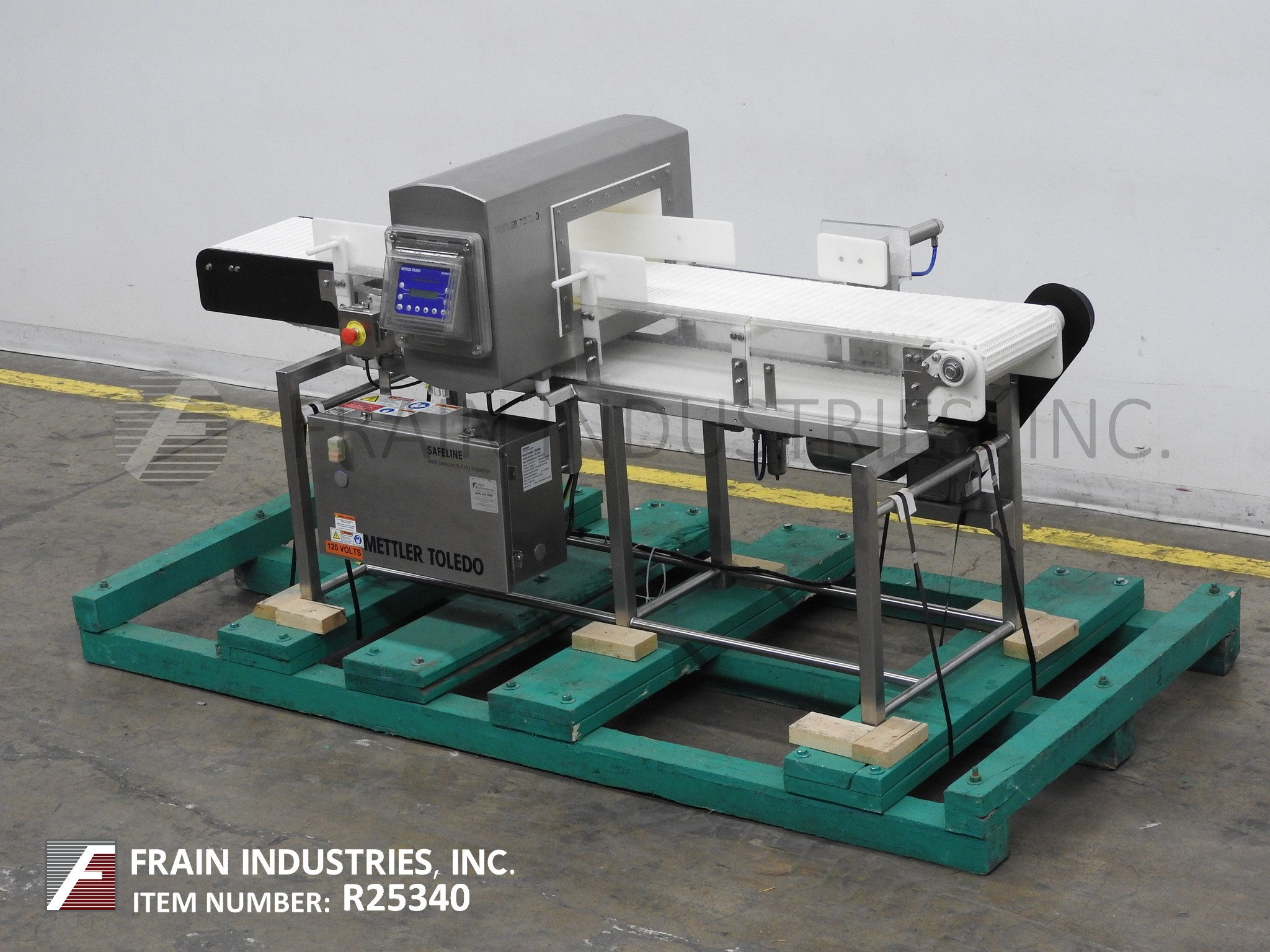 Safeline Metal Detector Conveyor SL1500