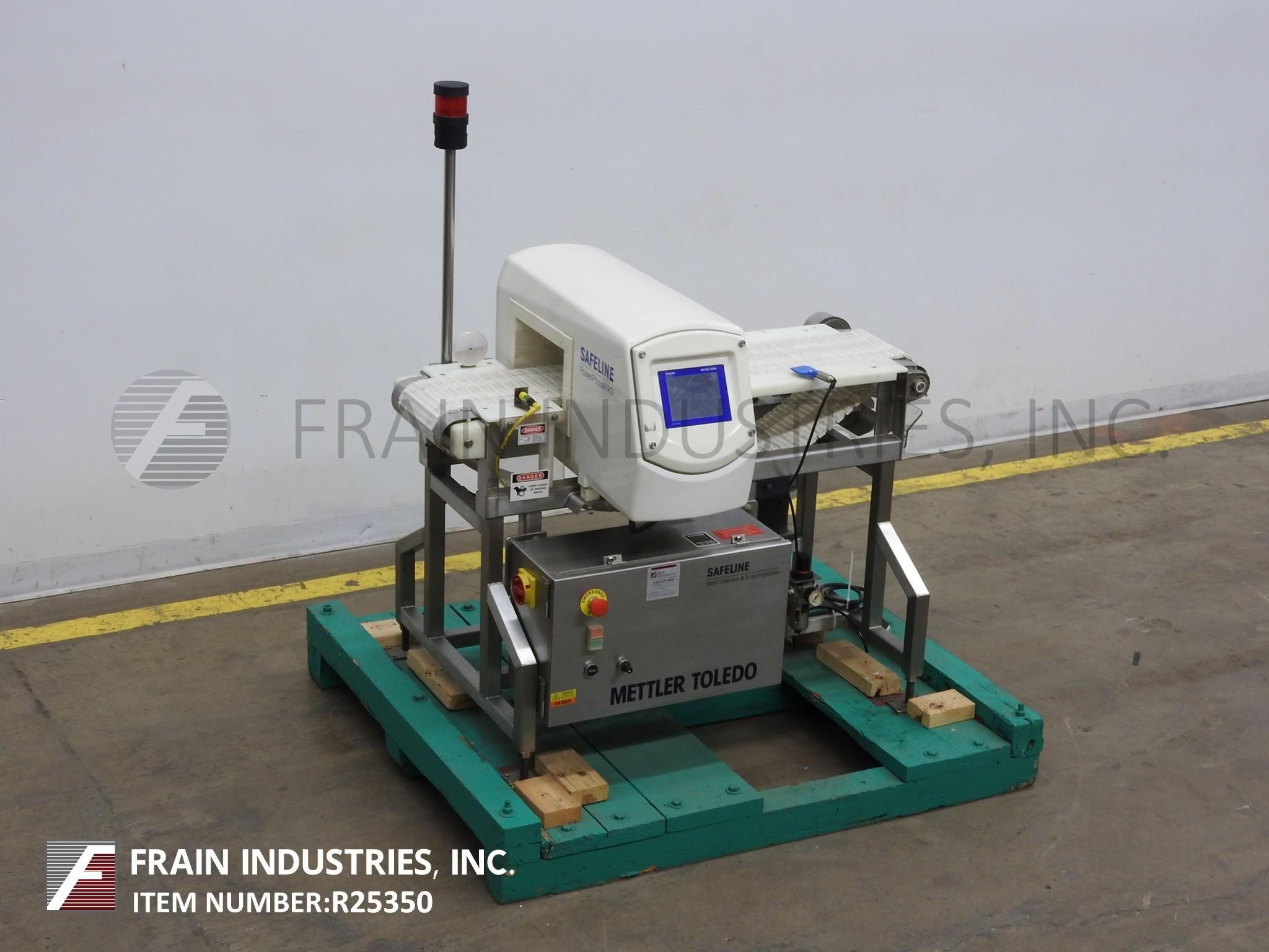 Safeline Metal Detector Conveyor POWERPHASEPLUSSL2000