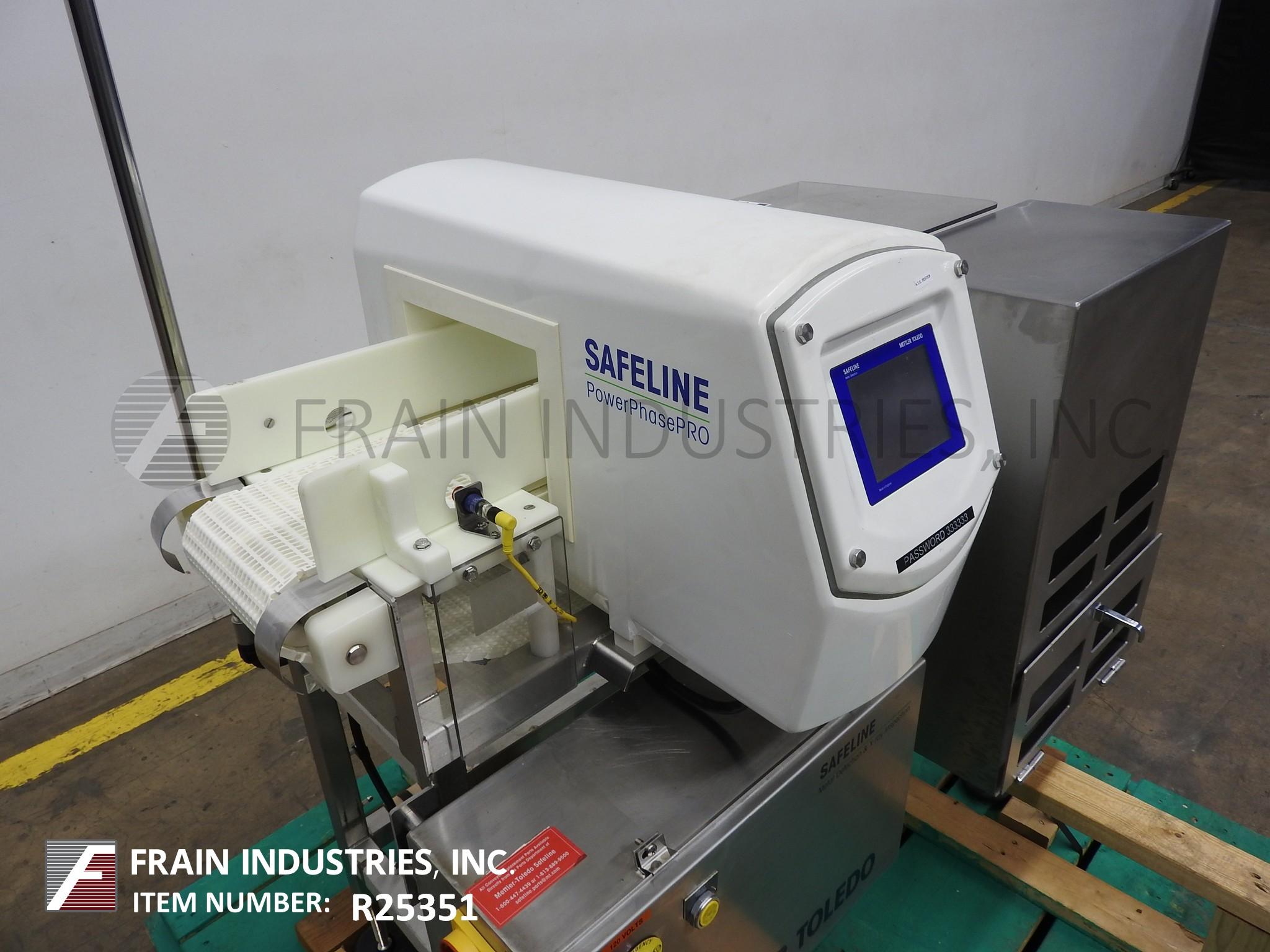 Safeline Metal Detector Conveyor PPH
