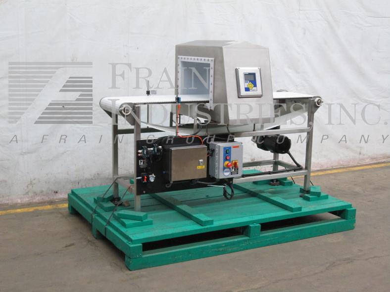 Lock Inspection Systems Metal Detector Conveyor INSIGHTIP693FHFNUT11