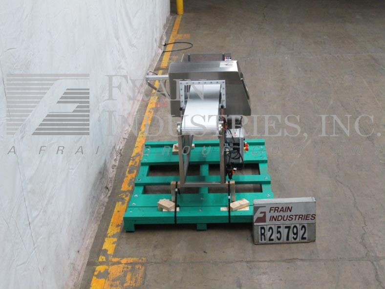 Lock Inspection Systems Metal Detector Conveyor 3FHF8X14