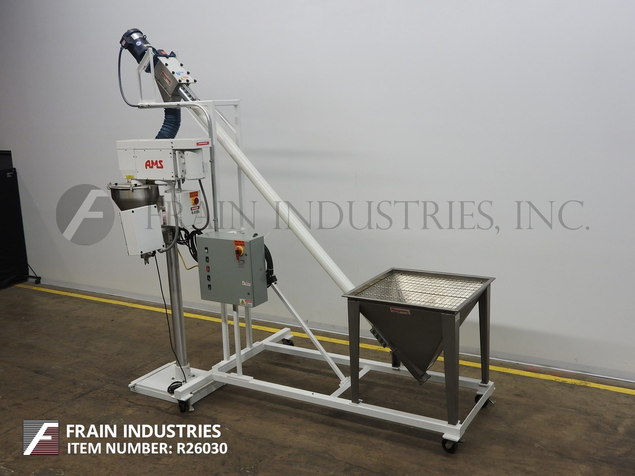 AMS Filling Systems Filler Powder Auger A100/1312
