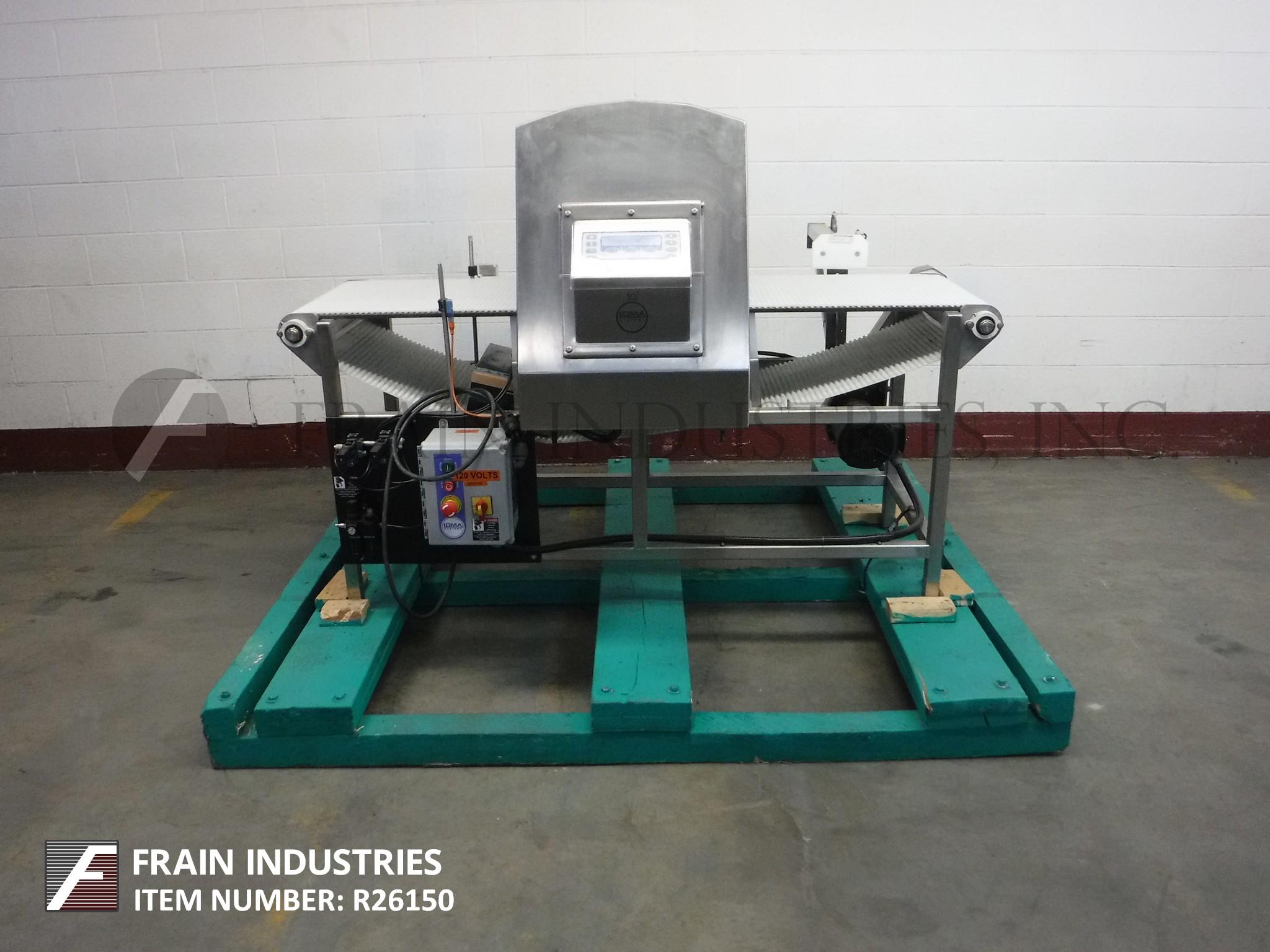 Loma Metal Detector Conveyor IQ3