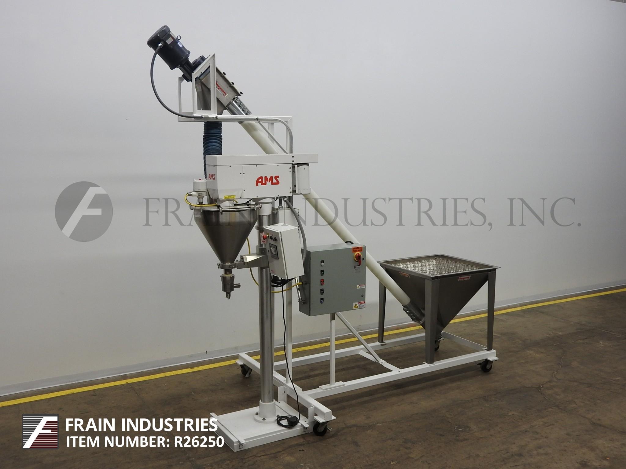 AMS Filling Systems Filler Powder Auger SINGLE HEAD