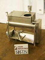 Photo of Mixer Liquid 10 CU FT 10 cu ft 304 S/S ribbon blender with 40&quot;L x 22&quot;W x24 1/2D&quot;