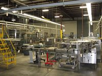 Photo of U S Bottlers Complete Line Liquid FILLING LINE 