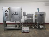 Photo of Niro Atomizer Tank Processors 160 GAL Lecithin Mixing, Re-circulation System, S/S
