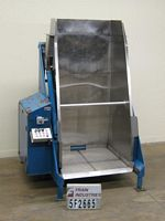 "Photo of Material Handling Tote Dump 48"" DISCHARGE"