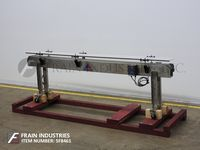 "Photo of A Packaging Systems Conveyor Table Top 4.5""W X 120"" L"