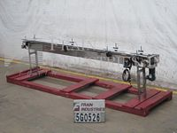 "Photo of Flex Link Conveyor Table Top 6""W X 138""L"