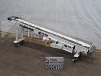 "Photo of Hytrol Conveyor Belt 14""W X 132""L"